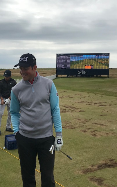 Enoch finishes 67 at the Open Championship