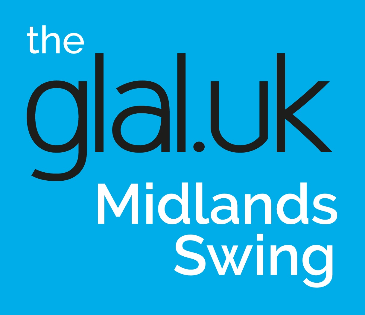 The Glaluk Midlands Swing Logo on cyan 002