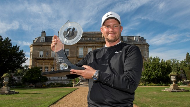 Tom Lewis wins the Bridgestone Challenge
